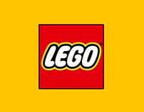 LEGO site redesign