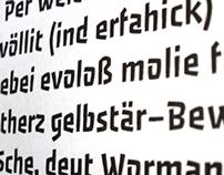 Passero Typeface