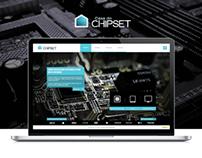 Casa do Chipset - Simple Website