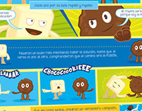CHOCO COOKIE Ads