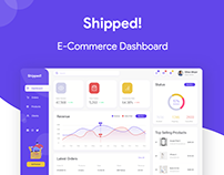 Shipped! - E-commerce Dashboard