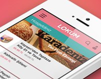 Lokum.com Application Concept
