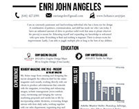 Enri John Angeles | Resume 2016