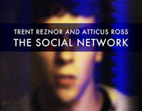 The Social Network soundtrack art