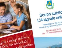 Comune di Zagarolo. Advertising for Online services