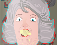 """Butter Y'all!"" Paula Deen Skateboard Design"