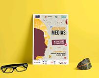 Event Identity - New Medias : International Seminar