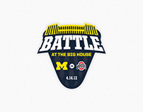 Logo: Battle at The Big House