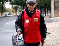 Vendedores Cais Lisboa