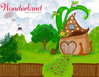 "wonderland ""It is the nature of my own wonderland """