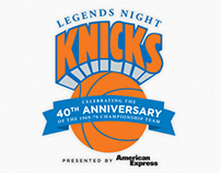 Logo & Event Collateral: New York Knicks Legends Night