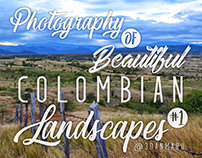 Photography of beautiful colombian landscapes #1