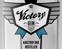 Victory Gin - Nineteen Eighty-four