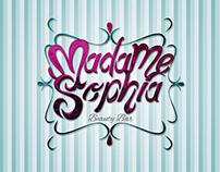 Branding Madame Sophia Beauty Bar