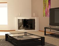 Apartment Interior Visualization