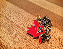 Canadian-Polish Congress Pin