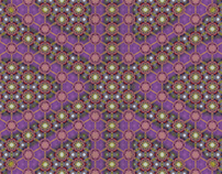 india textile inspired pattern panels 3