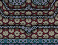 india textile inspired pattern panels 4