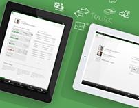 Interactive Banking - iPad App