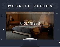 """Interior Website Design """"Bespoke Builders"""""""