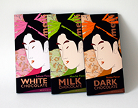 Meiji Chocolate / packaging