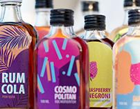 Cocktail label • illustration