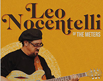 Leo Nocentelli | Gig Poster
