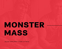 Monster Mass - UX/UI