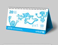 UNICEF Desk Calendar