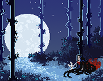 Dust (Short) Inspired Pixel Art Illustration