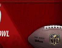 "Whistle Sports - Wilson Football ""49 Super Bowl Facts"""