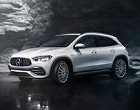 Keep it simple: Mercedes GLA 35