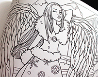 Angel Coloring Book