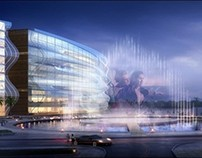 3d Renderings --- Public Building