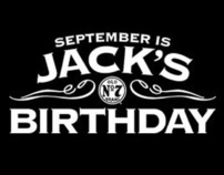 JACK DANIEL'S - SEPTEMBER IS JACK'S BIRTHDAY