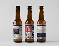 Antiga. Packaging (Label design)