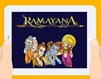 Game Design to teach Hindu Epic, Ramayana to kids