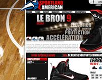 Sportland American - e shop
