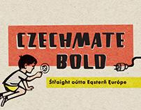 Czechmate Bold Typeface