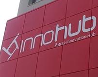 INNOHUB Patras Brand & building identity