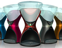 Coffee Machine Hourglass Concept