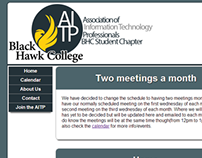 Black Hawk College AITP Club Website