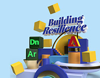 Building Resilience • 3D Typography