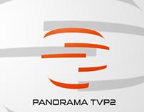 """Propozycja logotypu dla """"Panorama TVP2"""""""