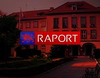 """Oprawa graficzna dla """"Raportu"""" Telewizji Pyrzyce"""