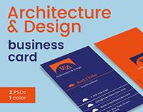 Architecture & Design Business Card Template