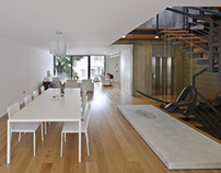 Cabrera + Febles / Casa + Estudio