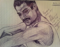 Freddie Mercury Lead singer for Queen by Pallominy MD