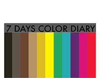 7 Day Color Diary : Excellence of Habit
