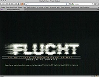 Flucht. Social website 1997.